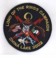 AERONAUTICA MILITARE / NATO - Reparti Di Volo - Distintivo/patch Originale Da Tuta Di Volo - LORD OR THE RINGS - 2002 - Forze Aeree