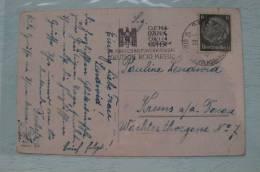 AC- Germany - Slogan Cancellation Datemark -1941 - Eagle - Storia Postale