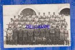 CPA Photo - FONTAINEBLEAU - 55e Régiment D'Artillerie Divisionnaire - Quartier Boufflers - Avril 1935 - Fontainebleau
