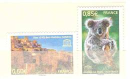 FR UNESCO 2007. YT N° 138  Et 139 - Unclassified