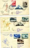 San Marino - Fdc Venetia 1953 - Sport I Serie - FDC