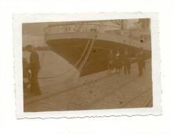 Photos, Bordeaux (33), Le Port - 1938 - Dim : Env. 8.5 x 6.5 cm
