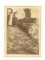 Photos, Angles Sur Anglin (86) - Femmes - 1929 - Dim : 9 X 6.5 Cm - Anonymous Persons