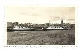 Photos, Saint-Malo (35) - Le Brittany et le Dinard � quai - 1937  - Dim : 11 x 6.5 cm