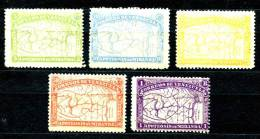 Venezuela 1896 Mi#48-52 * - Venezuela