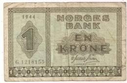 Norway - 1940s - P15a - FINE - Norvegia