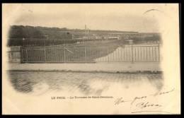 CPA Le Pecq, Vue Sur St Germain En Laye, Circulée 1903 - Le Pecq