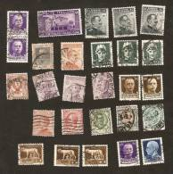 OS.1-4-5. Italia, LOT - Set Of 27 - 1.25 Lire & 1 Lira - 2 & 15 & 20 & 25 & 30 & 40 & 50 Cent - 5 & 10 Centesimi - Etc. - 1900-44 Vittorio Emanuele III