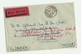 PARIS    Bureau N°30    Bd. DIDEROT    LSE – Tarif P.A.   INDES   à 6F.50 - Poste Aérienne