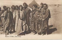 Maures A M' Bout - Mauritanie