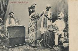 Ceylon. Colombo Dancing Girl Small Piano  Uduman The Travellers Mart  No 71 - Sri Lanka (Ceylon)