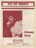Nu Of Nooit - Jimmy Frey - Gezang