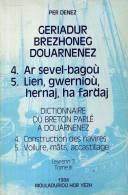 Per Denez Geriadur Brezhoneg Douarnenez Tome 3 Ar Sevel Bagou Lien Gwerniou  Constructions Des Navires Voilure Mats - Bretagne