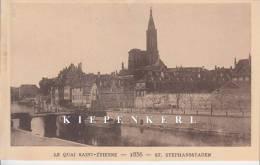 LE QUAI SAINT-ETIENNE 1856 ST-STEPHANSSTADEN / LE STRASBOURG DAS DISPARU-STRASSBURG VON EINST - Strasbourg