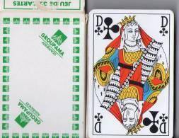 JEUX DE CARTES -  GROUPAMA - ASSURANCES  - 32 CARTES  - HERON - 32 Kaarten
