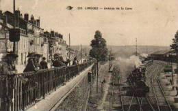 LIMOGES AVENUE DE LA GARE HAUTE-VIENNE - Limoges