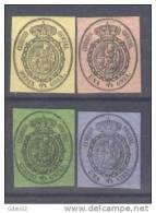 ES35-L2606.España.Spain   .Espagne.ESCUDO  DE ESPAÑA.1855.(Ed35/8**) Sin Charnela.MUY BONITOS - 1850-68 Reino: Isabel II
