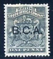 BCA. British Central Africa 1891. 1d Black. SG 1*. - Nyassaland (1907-1953)