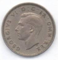 GRAN BRETAGNA 1 SHILLING 1949 - 1902-1971 : Monete Post-Vittoriane
