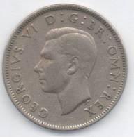 GRAN BRETAGNA 2 SHILLINGS 1949 - 1902-1971 : Monete Post-Vittoriane
