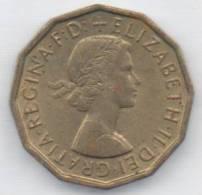 GRAN BRETAGNA THREE PENCE 1967 - 1902-1971 : Monete Post-Vittoriane
