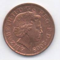 GRAN BRETAGNA ONE PENNY  2008 - 1971-… : Monete Decimali