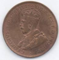 AUSTRALIA ONE PENNY 1924 - Moneta Pre-decimale (1910-1965)