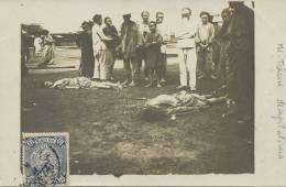 A -Mi-Tcheou Real Photo Decapitations Beheading - Chine
