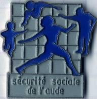 DEPARTEMENT AUDE SECURITE SOCIALE - Pin's
