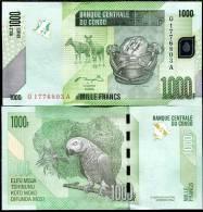 CONGO 1000 1,000 FRANCS 2005/2012 P NEW UNC - Congo