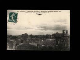 22 - SAINT-BRIEUC - La Journée D'Aviation à L'Aérodrome De Cesson (Octobre 1910) - Busson Planant Au Dessus... - 3938 - Saint-Brieuc