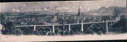 Bern Panorama, Carte Double (4249) - BE Berne