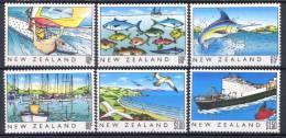 Nuova Zelanda 1989 Y.T. 1045/50 **/MNH VF - Ungebraucht