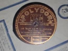 78T Chanson Le Chanteur Sans Nom - 78 Rpm - Schellackplatten