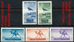 LEBANON 1949 UPU SC#225-27/C148-49 MNH CV$29-CAMEL,HELICOPTER (D0456) - Lebanon