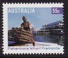 2008. AUSTRALIAN DECIMAL. Tourism. (Tourist Destinations). 55c. Tourist Precincts - Fishermans Wharf, Fremantle. FU. - 2000-09 Elizabeth II