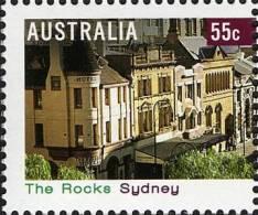 2008. AUSTRALIAN DECIMAL. Tourism. (Tourist Destinations). 55c. Tourist Precincts - The Rocks, Sydney. FU. - 2000-09 Elizabeth II