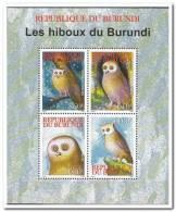 Burundi 2009 Postfris MNH  Owls - Burundi