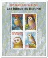 Burundi 2009 Postfris MNH  Owls - 2000-09: Ongebruikt
