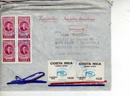 COSTA RICA  SOBRE CIRCULADO  OHL - Costa Rica