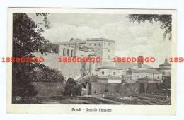 ROMA -   ARSOLI  -  CASTELLO MASSIMO  VIAGGIATA 1915 - Italia