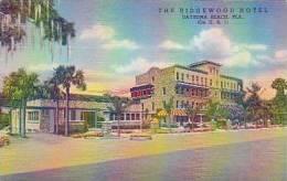 Florida Daytona Beach The Ridgewood Hotel Curteich
