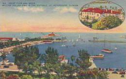 Florida St Petersburg Yacht Club and Basin Million Dollar Pier i