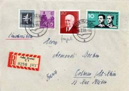 GERMAN DEMOCRATIC REPUBLIC - 1959 - R-LETTER HALLE (SAALE) - [6] Democratic Republic