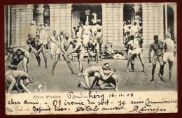 Cpa Inde India Native  Wrestlers    RAM3 - Indien