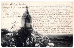 Cpa 39 - Moissey (Jura) - Sommet Du Mont-Guerin - Chapelle Du Pèlerinage - Edit. Vve Karrer Dole - France