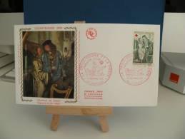 *FDC - Croix Rouge, Chapelle De Dissay - 86 Poitiers - 12.12.1970 France - Coté 4,50 € - FDC