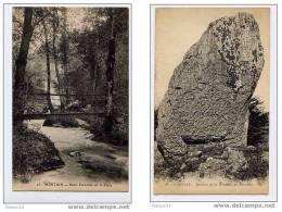 P 3CPA Mortain, Passerelles Sur La Cance, Rochers De La Montjoie, Monolite - France