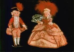 POUPèES - Couple Marquis - Marquise - Vestuarios