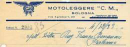 BOLOGNA MOTOLEGGERE C.M. 1933 - Italia